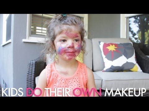 Marla Sokoloff and I watch our Kids Do Their Own Makeup  Jamie Greenberg Makeup