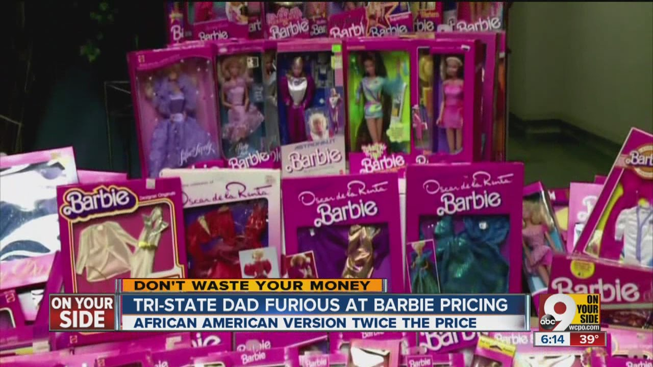Dad angry over price difference for african american for Compro sedie on line