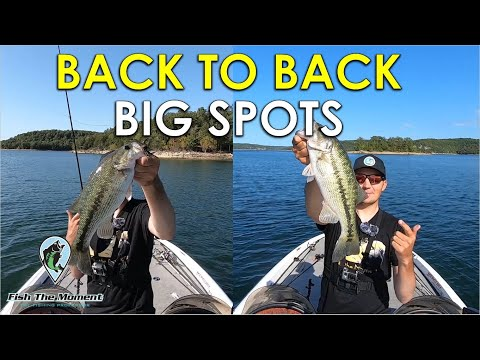 TOUGH Fall Fishing For Deep Spotted Bass | 3 Hour Challenge #1