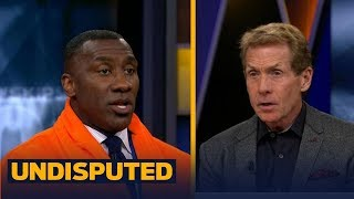 Skip Bayless and Shannon Sharpe react to Floyd Mayweather's TKO against Conor McGregor | UNDISPUTED