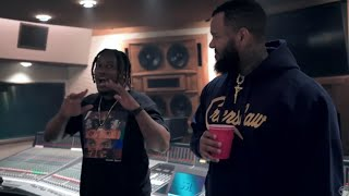 The Game and Osbe Chill link up in studio