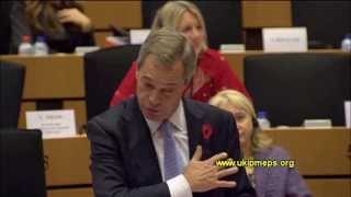 Farage vs Van Rompuy: Let