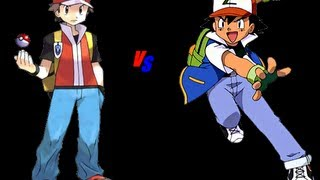 pokefacts why ash did not become red and what pokemon was suppose to be