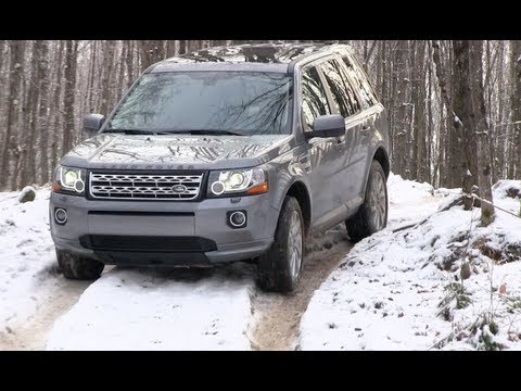 Land Rover LR2 & Freelander Snowy & Icy Off-Road First Drive Review: 2013