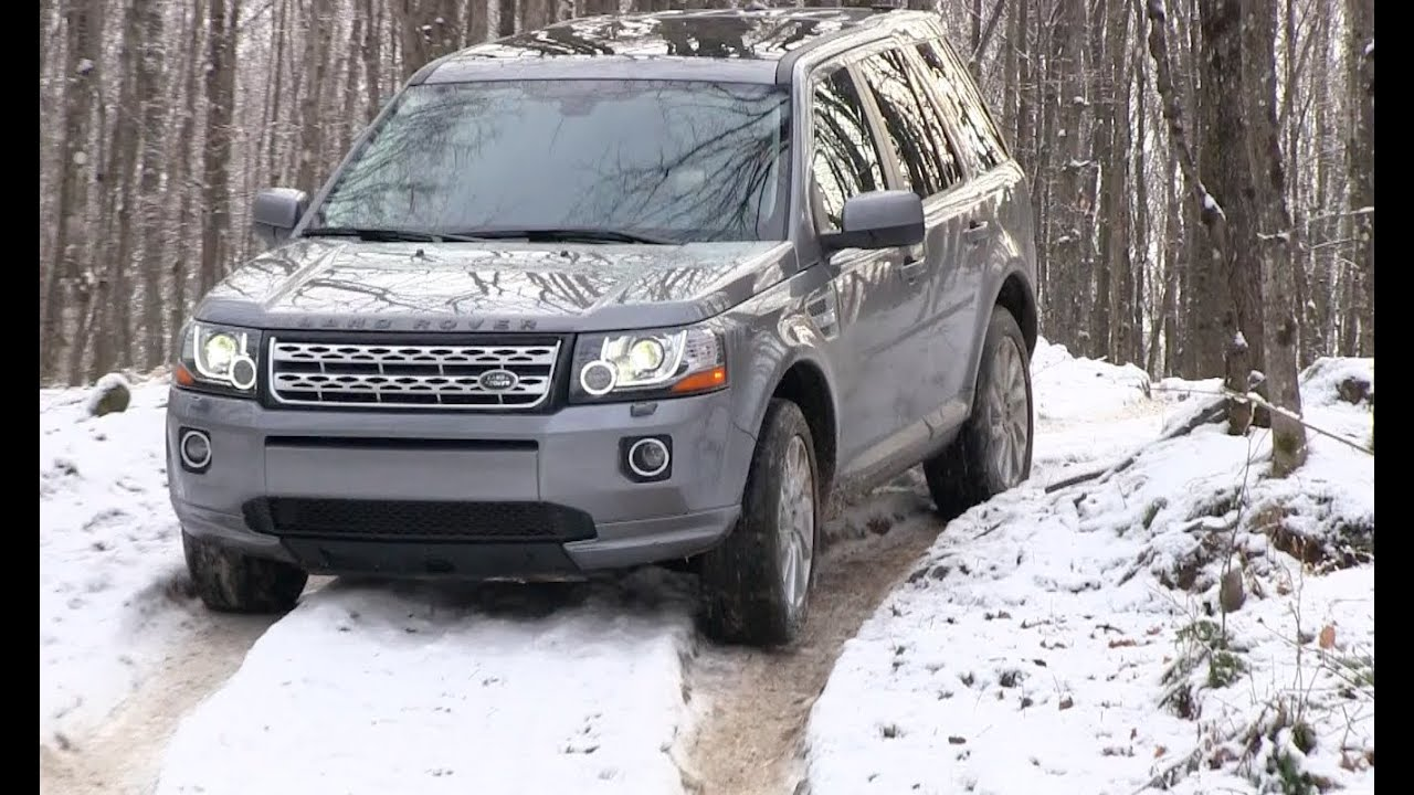 Land Rover Lr2  U0026 Freelander Snowy  U0026 Icy Off-road First Drive Review  2013