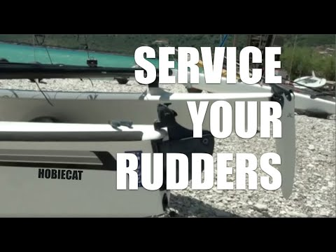 Service Your Hobie Rudders