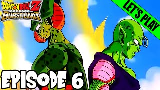 the androids they re here piccolo vs cell dragon ball z burst limit part 6 dbn plays