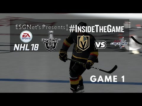 NHL '18 | Stanley Cup Finals | Washington Capitals vs. Las Vegas Golden Knights | Game 1