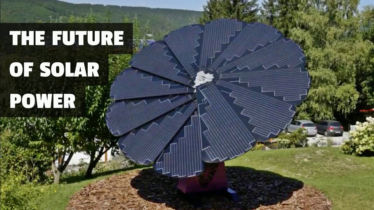 This Smartflower is the Future of Solar Energy