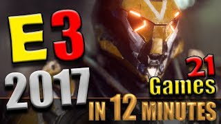 Best Games of E3 2017 - PC Games, XBox Games, PS4 Games and Game Trailers