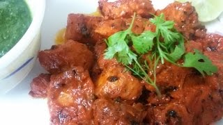 Chicken Tikka no oven/Tandoor - English subtitles| Chicken tikka without Tandoor