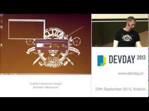 """Andreas Håkansson - """"Guerilla Framework Design"""""""
