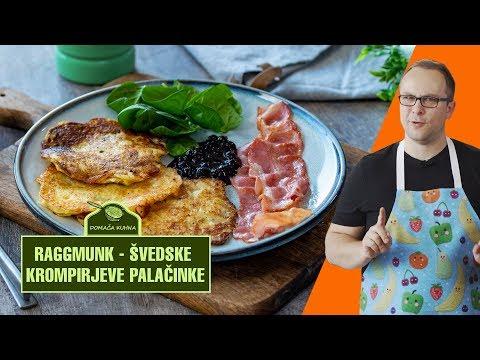 Raggmunk - švedske krompirjeve palačinke