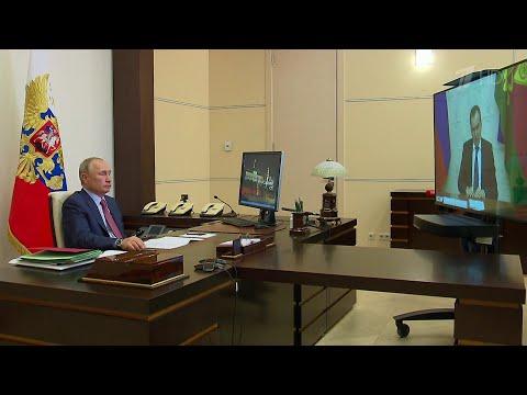 Борьба с последствиями пандемии главная тема встречи В.Путина с губернатором Краснодарского края.