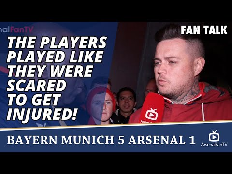 The Players Played Like They Were Scared To Get Injured! | Bayern Munich 5 Arsenal 1
