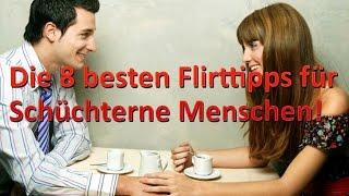 Die 8 besten Flirttipps für Schüchterne Menschen!