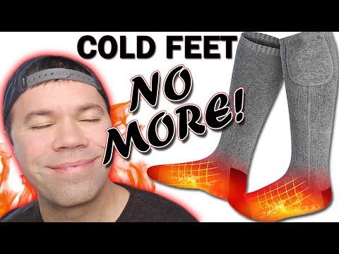 Do Heated Socks REALLY Work?  Battery Operated Heated Socks Review
