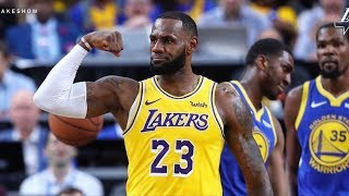 LeBron Says Playoff Intensity Activated Earlier Than Usual! 2018-19 NBA Season