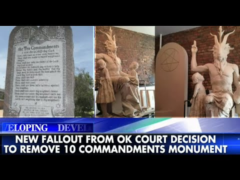 Debate Over Decision to Remove Ten Commandments New Fallout from Oklahoma Supreme Court Ruling