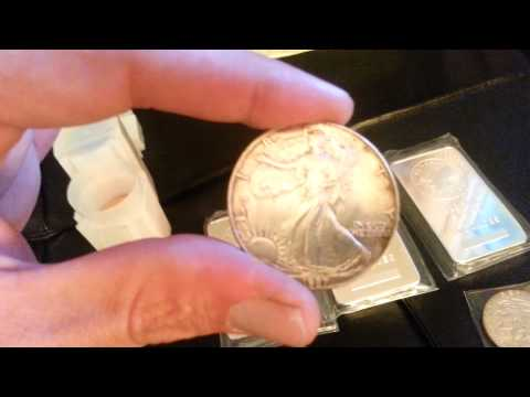 Zombucks unboxing and scrap traded for bullion.