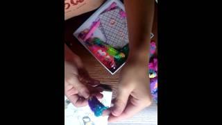 Как я делаю уроки + поделки из резинок