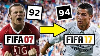 How The Top Five Footballers Have Changed Since Fifa 07