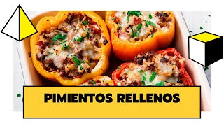 PIMIENTOS RELLENOS |  DELICIOSOS, SALUDABLES Y FÁCILES DE PREPARAR | THE COOKING LAB