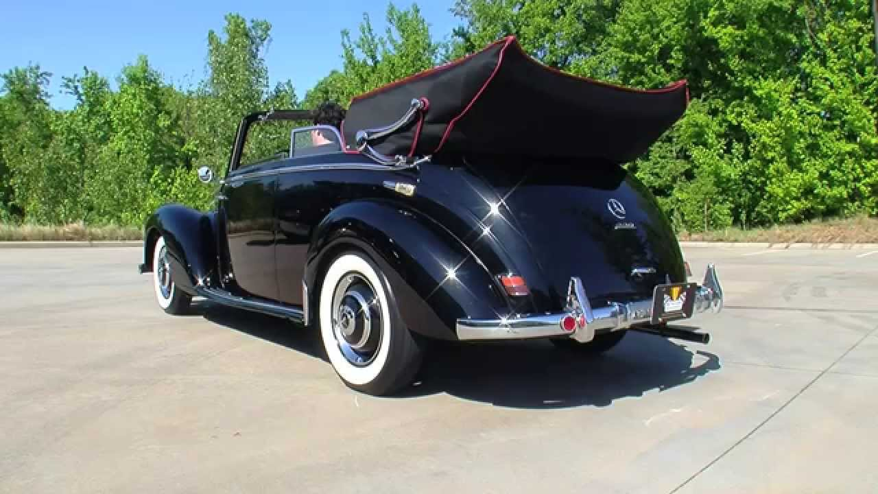 134698 1952 mercedes benz 220 b cabriolet youtube for 1952 mercedes benz