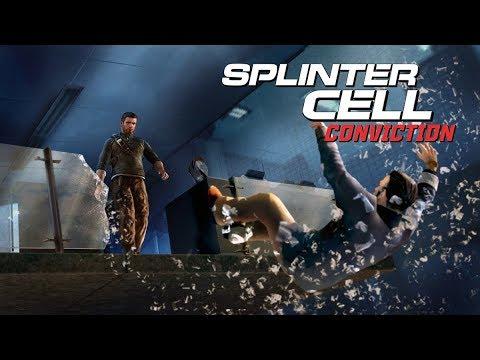 Splinter Cell Conviction Stealth Kills & Takedowns Gameplay - Third Echelon HQ