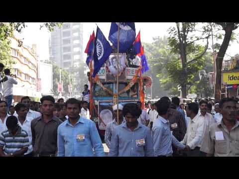 Namdeo Dhasal Funeral Procession Part 2