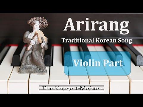 """How To Play """"Arirang"""" On Violin [Violin Part]"""