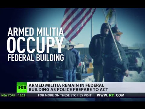 Militia in Oregon: If police use force 'that would be bad'