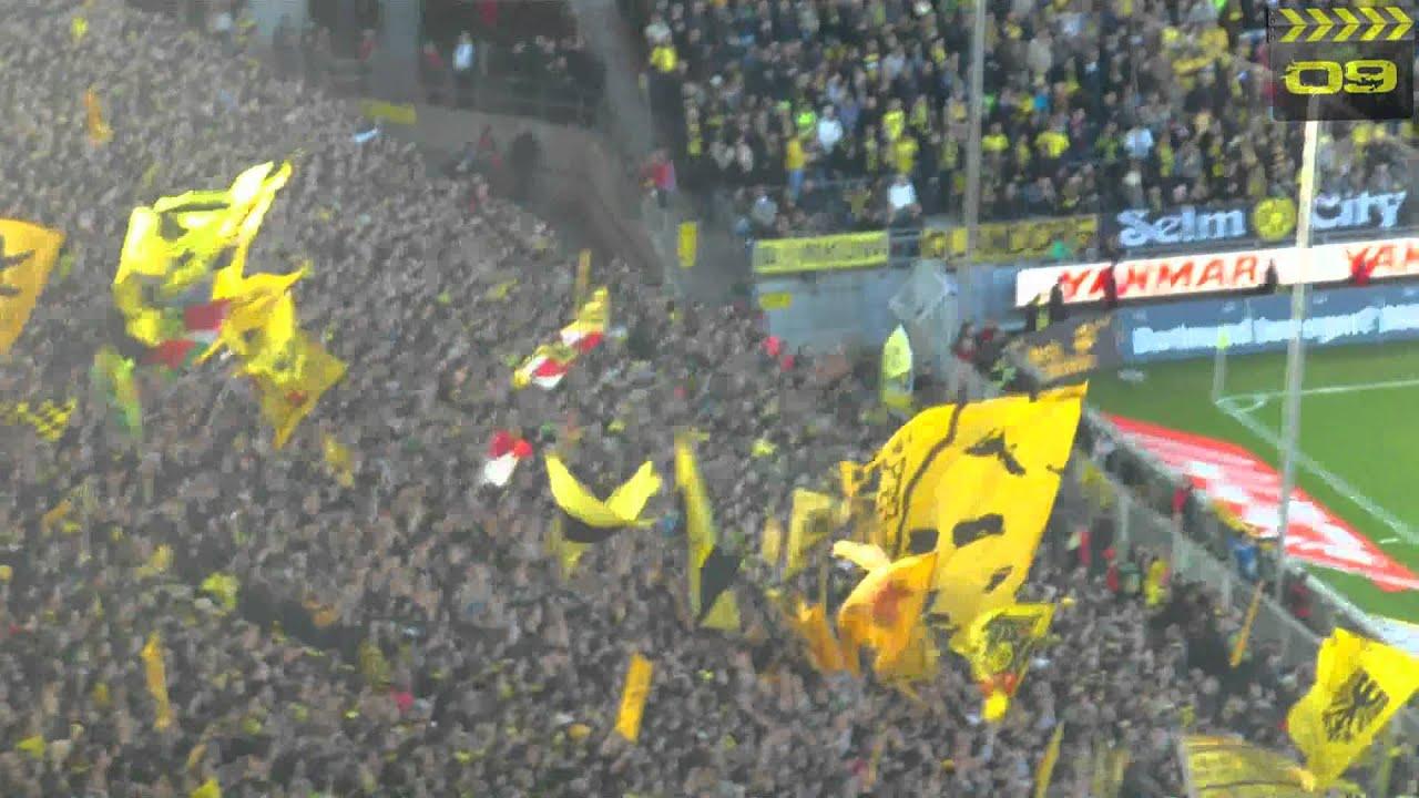 BVB Borussia Dortmund vs 1FC Köln HD Stimmung (Kurz)