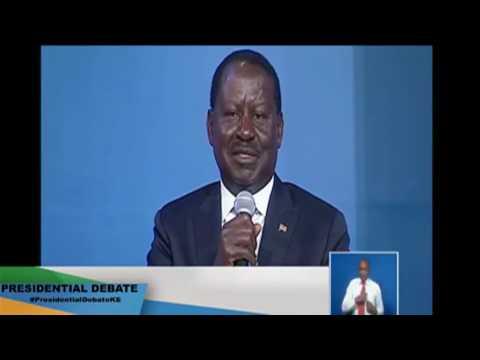 Like a true statesman that he is, Raila Odinga defends the founding President Jomo Kenyatta