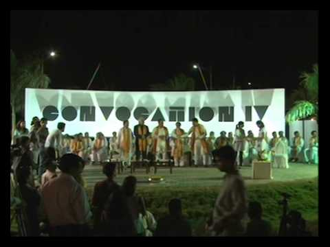MIT Institute of Design,Pune convocation 2012 live footage