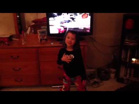King of queens theme song sung by 7 yr old girl