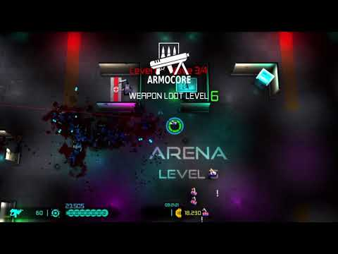 Neon Chrome - Trying out the ARENA MODE dlc. |