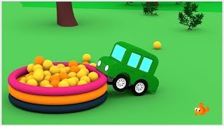 FOREST CARS! - Racing cars for kids - Car Cartoons - Cartoon compilations - Videos for children