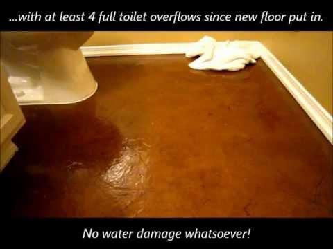 DIY Paper Flooring Repair Update! Laminate/Carpet Alternative
