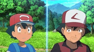 Pokemon Battle USUM: Alola Ash Vs Ash