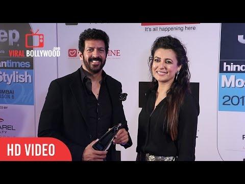 Kabir Khan and Mini Mathur at HT Most Stylish Awards 2017  Viralbollywood