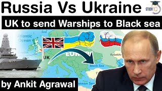 Фото Russia Ukraine Conflict Escalates - United Kingdom To Send WARSHIP To Black Sea