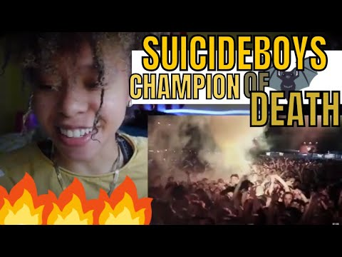 SUICIDEBOYS -  CHAMPION OF DEATH (REACTION)