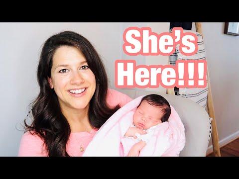 MEET MY DAUGHTER!  & Birth story