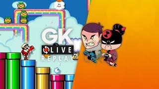 À bloc sur Super Mario Maker 2 [GK Live Replay]