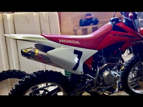 Crf230f Pro Circuit T4 Complete Exhaust System Sound Test and Review