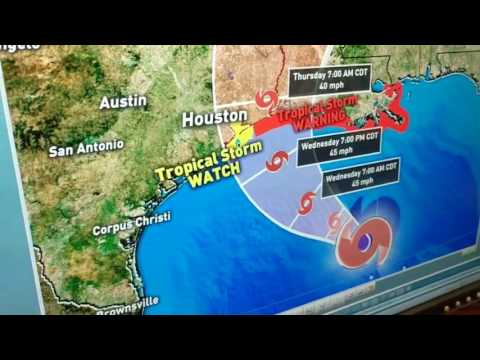 Houston & Gulf weather forecast update