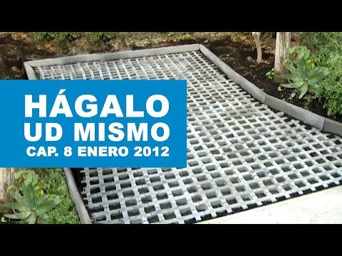 H galo usted mismo programa 8 de enero 2012 youtube for Losas de hormigon para jardines