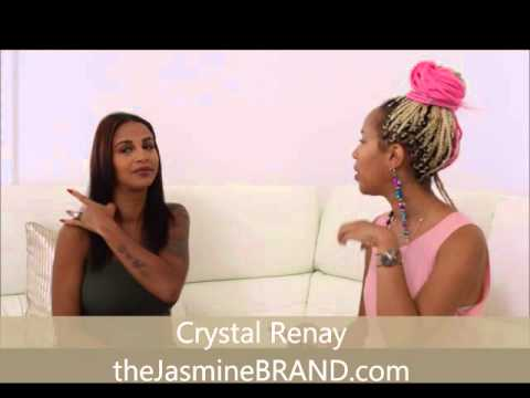 (EXCLUSIVE) Crystal Renay On Engagement To NeYo, Pregnancy & Social Media Backlash - PART 1