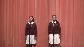 學生表演 - 普通話朗誦